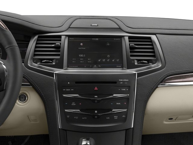 2015 Lincoln MKS Prices and Values Sedan 4D V6 stereo system