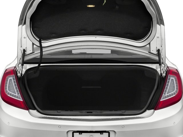 2015 Lincoln MKS Prices and Values Sedan 4D V6 open trunk