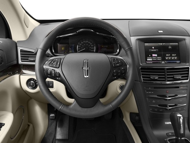 2015 Lincoln MKT Prices and Values Wagon 4D Town Car AWD V6 driver's dashboard