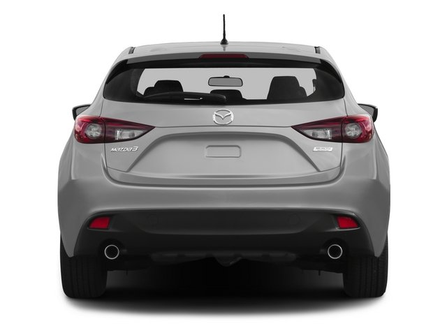 2015 Mazda Mazda3 Prices and Values Wagon 5D i Sport I4 rear view