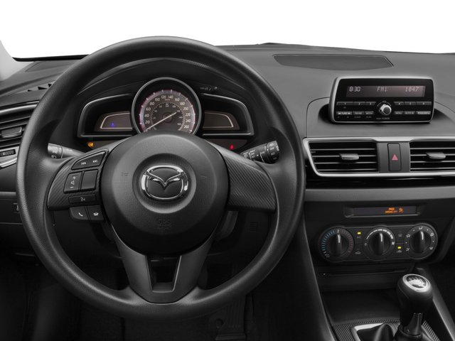 2015 Mazda Mazda3 Prices and Values Wagon 5D i Sport I4 driver's dashboard