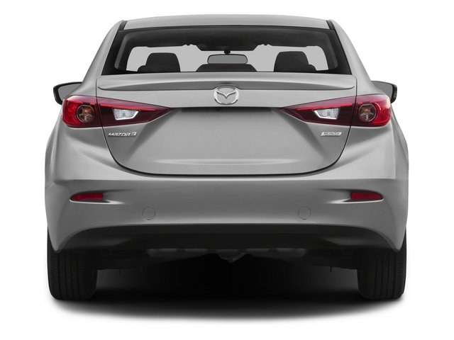 2015 Mazda Mazda3 Pictures Mazda3 Sedan 4D i SV I4 photos rear view