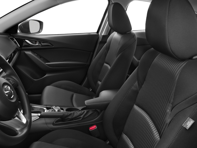 2015 Mazda Mazda3 Prices and Values Sedan 4D i Touring I4 front seat interior