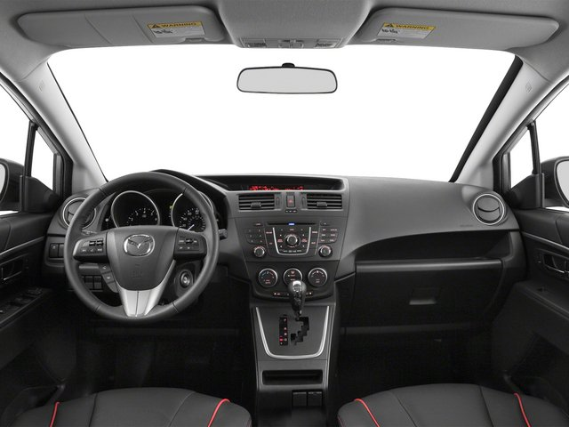 2015 Mazda Mazda5 Prices and Values Wagon 5D GT I4 full dashboard
