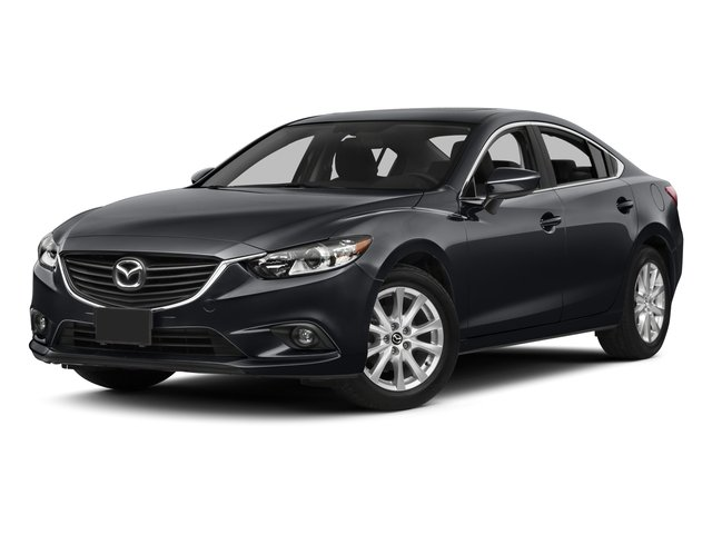 2015 Mazda Mazda6 Pictures Mazda6 Sedan 4D i GT I4 photos side front view