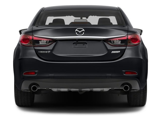 2015 Mazda Mazda6 Pictures Mazda6 Sedan 4D i GT I4 photos rear view