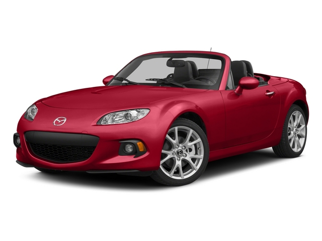 2015 Mazda MX-5 Miata Prices and Values Convertible 2D Sport I4 side front view