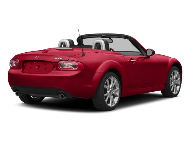 2015 Mazda MX-5 Miata Prices and Values Convertible 2D Club I4 side rear view
