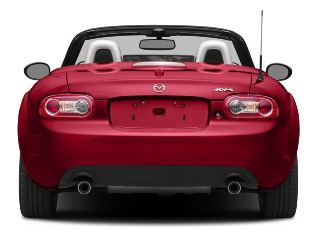 2015 Mazda MX-5 Miata Prices and Values Convertible 2D Club I4 rear view