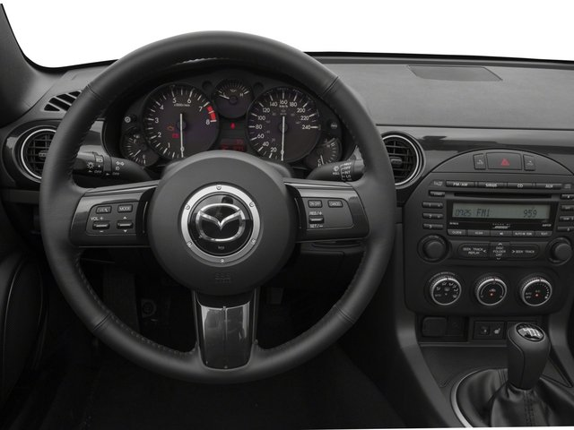 2015 Mazda MX-5 Miata Prices and Values Convertible 2D Sport I4 driver's dashboard