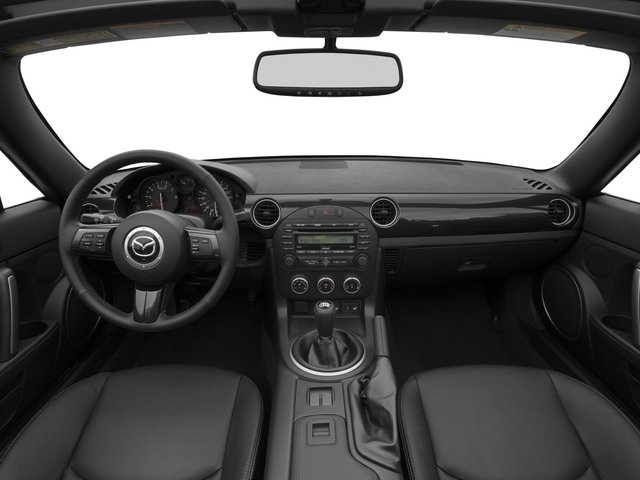 2015 Mazda MX-5 Miata Pictures MX-5 Miata Hardtop 2D Club I4 photos full dashboard
