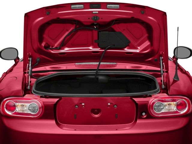 2015 Mazda MX-5 Miata Prices and Values Hardtop 2D Club I4 open trunk