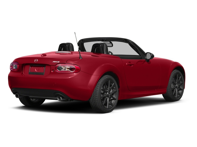 2015 Mazda MX-5 Miata Prices and Values Hardtop 2D Anniversary I4 side rear view