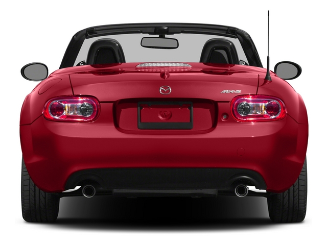 2015 Mazda MX-5 Miata Prices and Values Hardtop 2D Anniversary I4 rear view