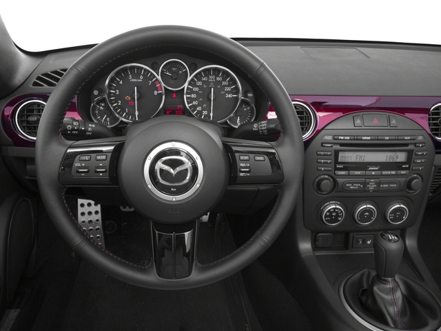 2015 Mazda MX-5 Miata Prices and Values Hardtop 2D Anniversary I4 driver's dashboard