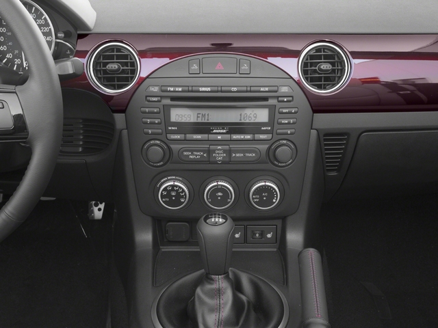 2015 Mazda MX-5 Miata Prices and Values Hardtop 2D Anniversary I4 stereo system