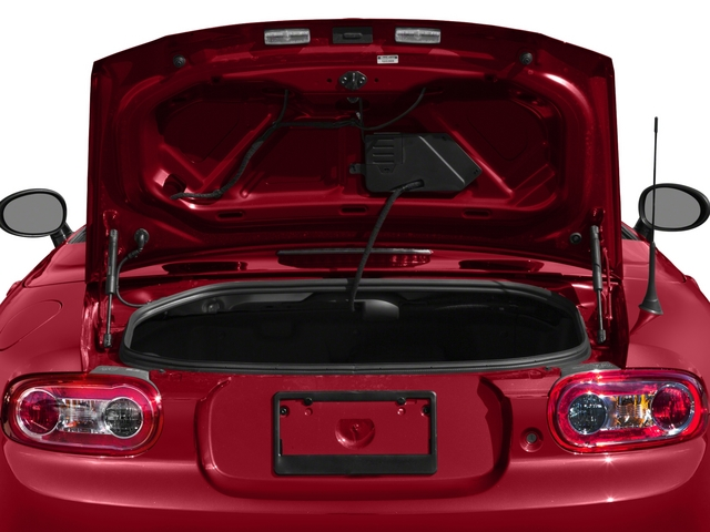 2015 Mazda MX-5 Miata Pictures MX-5 Miata Hardtop 2D Anniversary I4 photos open trunk