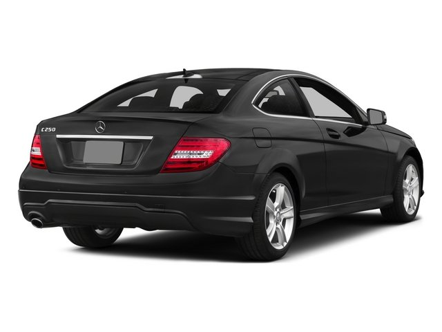 2015 Mercedes-Benz C-Class Prices and Values Coupe 2D C250 I4 Turbo side rear view
