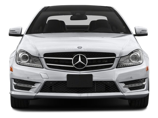 2015 Mercedes-Benz C-Class Prices and Values Coupe 2D C350 AWD V6 front view
