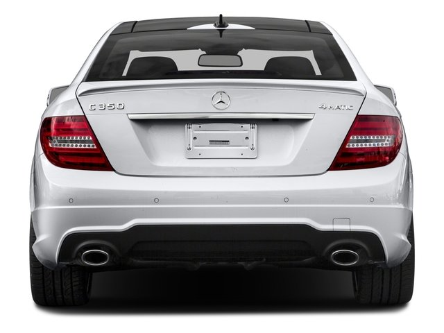 2015 Mercedes-Benz C-Class Pictures C-Class Coupe 2D C350 V6 photos rear view