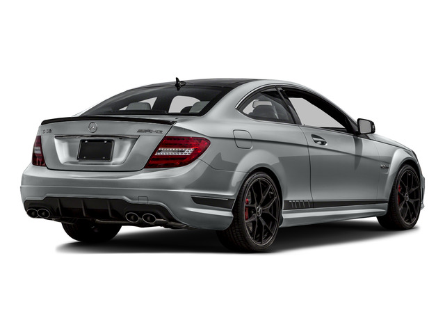 2015 Mercedes-Benz C-Class Prices and Values Coupe 2D C63 AMG V8 side rear view