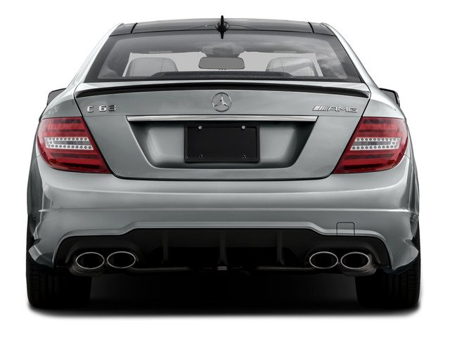 2015 Mercedes-Benz C-Class Prices and Values Coupe 2D C63 AMG V8 rear view