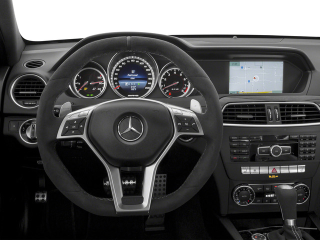 2015 Mercedes-Benz C-Class Prices and Values Coupe 2D C63 AMG V8 driver's dashboard