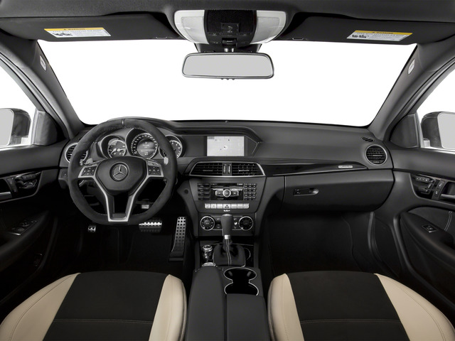 2015 Mercedes-Benz C-Class Prices and Values Coupe 2D C63 AMG V8 full dashboard