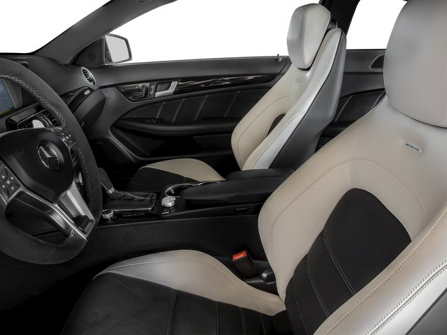 2015 Mercedes-Benz C-Class Prices and Values Coupe 2D C63 AMG V8 front seat interior