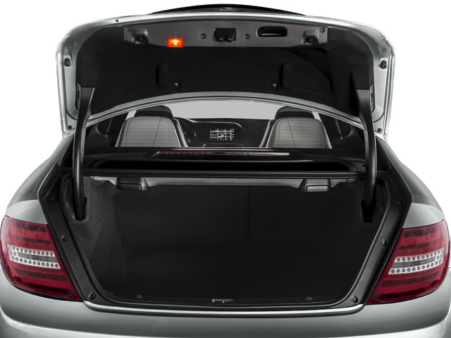 2015 Mercedes-Benz C-Class Prices and Values Coupe 2D C63 AMG V8 open trunk