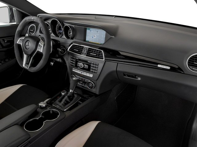 2015 Mercedes-Benz C-Class Prices and Values Coupe 2D C63 AMG V8 passenger's dashboard