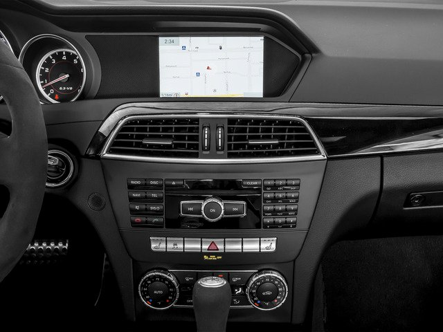 2015 Mercedes-Benz C-Class Prices and Values Coupe 2D C63 AMG V8 navigation system