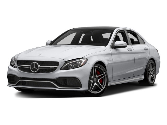 2015 Mercedes-Benz C-Class Prices and Values Sedan 4D C63 AMG V8 Turbo side front view