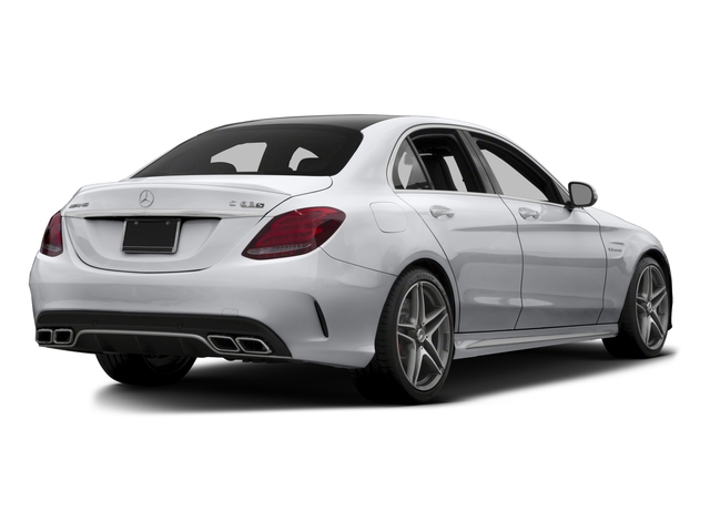 2015 Mercedes-Benz C-Class Prices and Values Sedan 4D C63 AMG S V8 Turbo side rear view