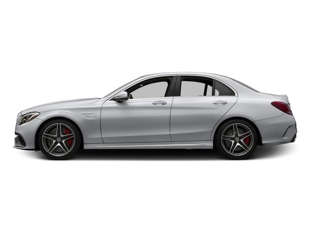 2015 Mercedes-Benz C-Class Pictures C-Class Sedan 4D C63 AMG V8 Turbo photos side view
