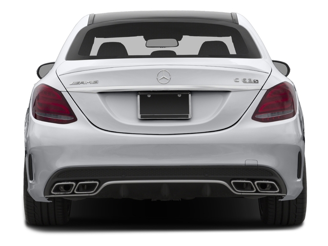 2015 Mercedes-Benz C-Class Prices and Values Sedan 4D C63 AMG S V8 Turbo rear view
