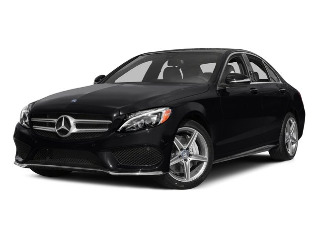 2015 Mercedes-Benz C-Class Prices and Values Sedan 4D C300 AWD I4 Turbo side front view