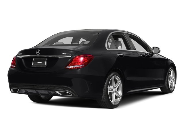 2015 Mercedes-Benz C-Class Prices and Values Sedan 4D C300 AWD I4 Turbo side rear view