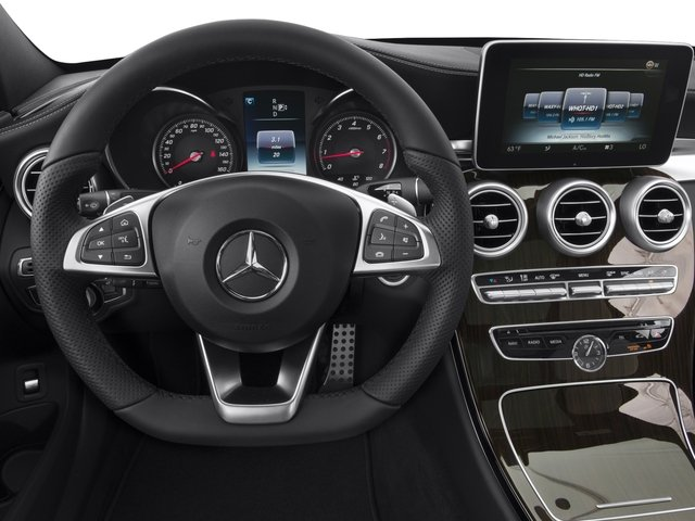 2015 Mercedes-Benz C-Class Prices and Values Sedan 4D C300 AWD I4 Turbo driver's dashboard