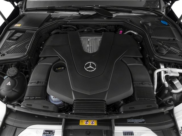 2015 Mercedes-Benz C-Class Pictures C-Class Sedan 4D C400 AWD V6 Turbo photos engine