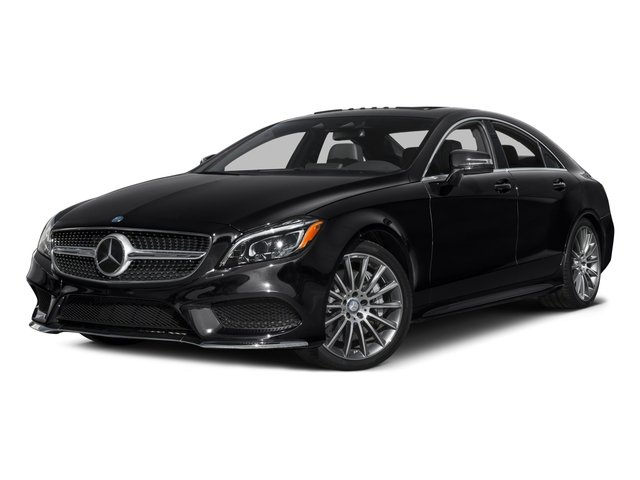 2015 Mercedes-Benz CLS-Class Prices and Values Sedan 4D CLS550 V8 Turbo side front view