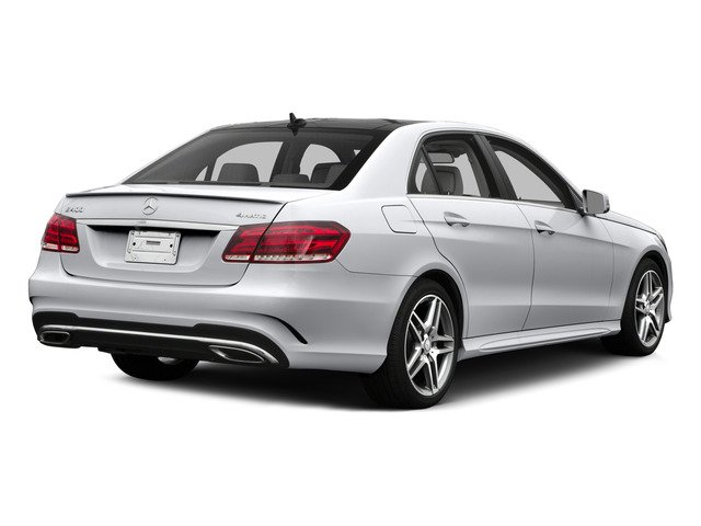 2015 Mercedes-Benz E-Class Pictures E-Class Sedan 4D E400 V6 Turbo photos side rear view