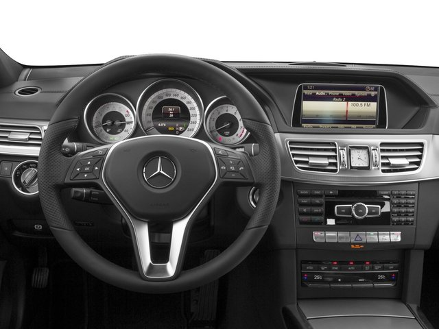 2015 Mercedes-Benz E-Class Prices and Values Wagon 4D E350 AWD V6 driver's dashboard