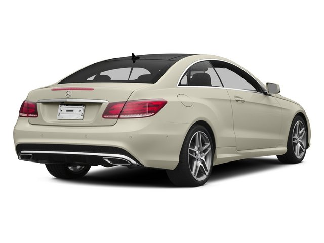 2015 Mercedes-Benz E-Class Prices and Values Coupe 2D E400 V6 Turbo side rear view