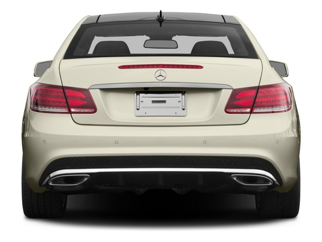 2015 Mercedes-Benz E-Class Prices and Values Coupe 2D E400 V6 Turbo rear view
