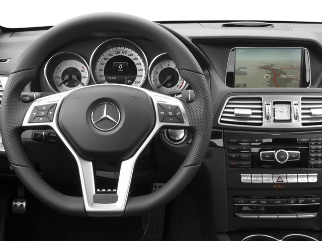 2015 Mercedes-Benz E-Class Prices and Values Coupe 2D E400 V6 Turbo driver's dashboard