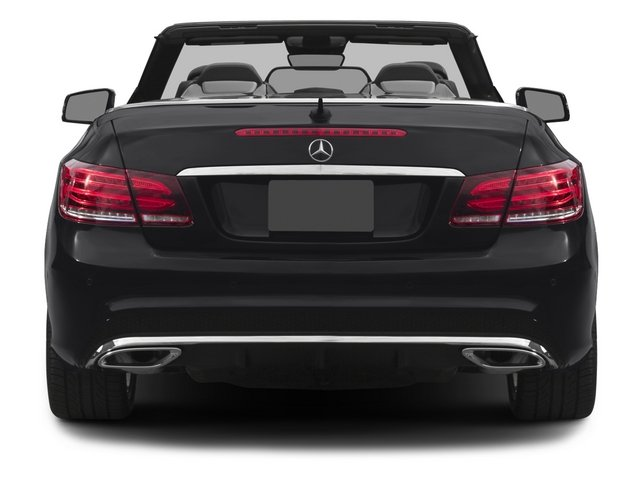 2015 Mercedes-Benz E-Class Prices and Values Convertible 2D E400 V6 Turbo rear view
