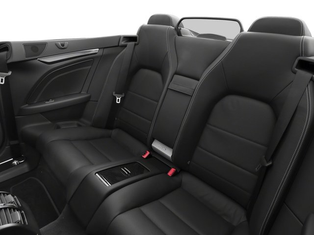 2015 Mercedes-Benz E-Class Prices and Values Convertible 2D E400 V6 Turbo backseat interior