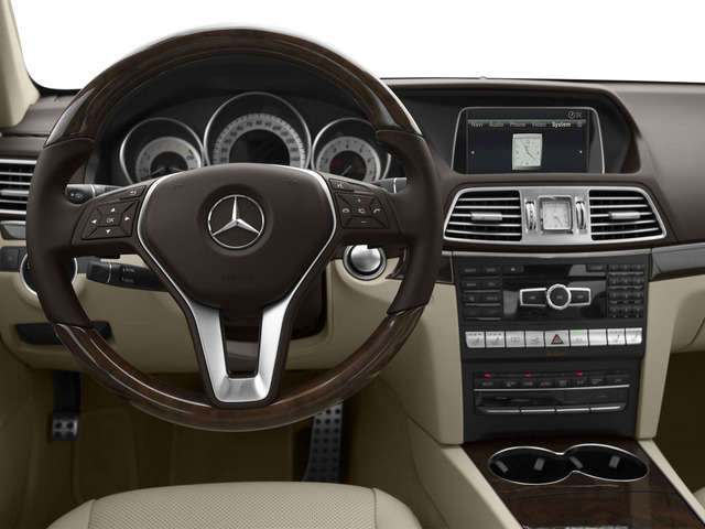 2015 Mercedes-Benz E-Class Pictures E-Class Coupe 2D E550 V8 Turbo photos driver's dashboard