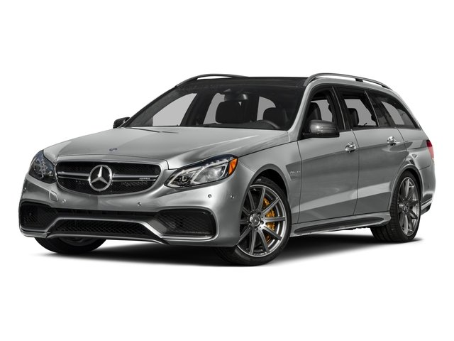 2015 Mercedes-Benz E-Class Prices and Values Wagon 4D E63 AMG S AWD V8 Turbo side front view